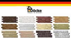 Особенностью сайдинга «Docke» является производство отделочного материала в соответствии с новейшей технологией