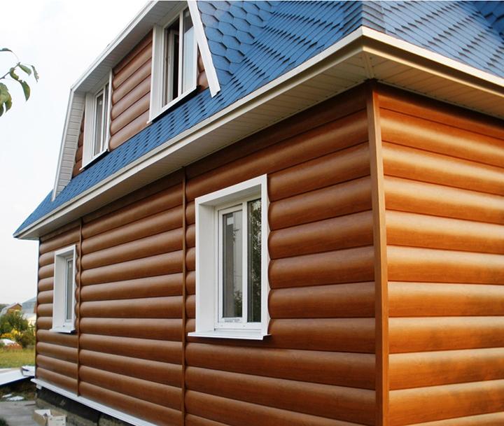 Деревянный отделочный сайдинг наиболее привычный и чаще всего имеющий сертификат экологического соответствия материал