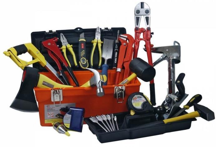 Необходимо подготовить минимальный набор инструмента для проведения отделочных работ