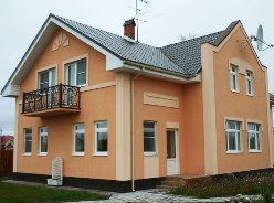 Жидкая пробка для отделки фасадов обладает многими положительными качествами