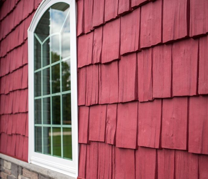 Коллекция «Hand-SplitShake» имитирует старинную технологию обшивки зданий деревянной щепой