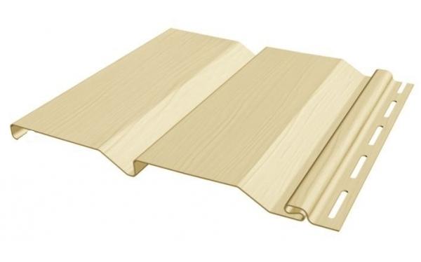 Сборка облицовки материалом с замками-защелками осуществляется снизу вверх