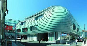 Алюкобонд – новый материал для облицовки фасадов любой сложности
