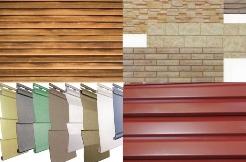 Наиболее часто для наружной отделки фасадов используются сайдинг и профилированный настил