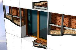 Вентилируемые фасады – самые современные конструкции