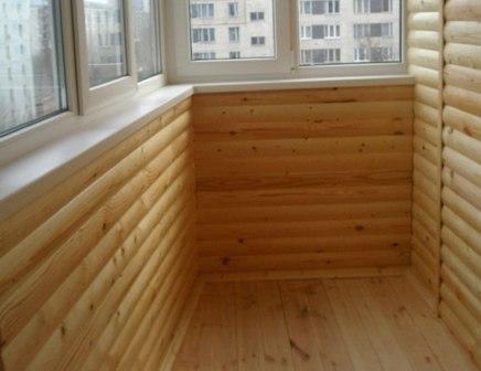 Блок-хаус – экологически чистый отделочный материал, имитирующий бревенчатую стену