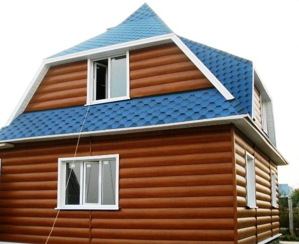 Блок-хаус может изготавливаться из обычной обрезной доски, которая также проходит соответствующую обработку и фрезеровку