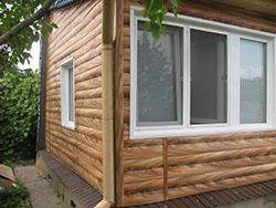 Блок-хаус - современный, красивый, эстетичный, экоматериал