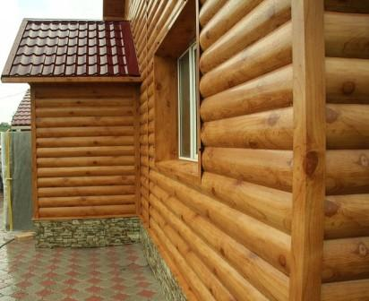 Блок-хаус производят, в основном, из хвойных пород древесины