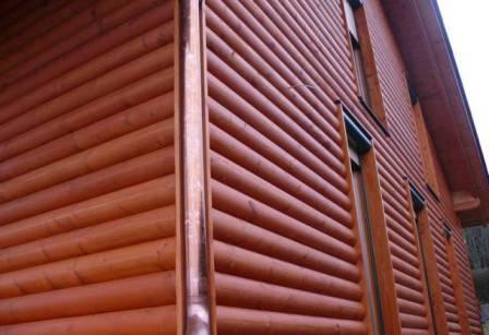 Блок-хаус способен регулировать природным способом температуру в доме