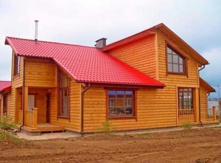 Блок-хаус – это современный отделочный материал, применяемый для внешней и внутренней отделки