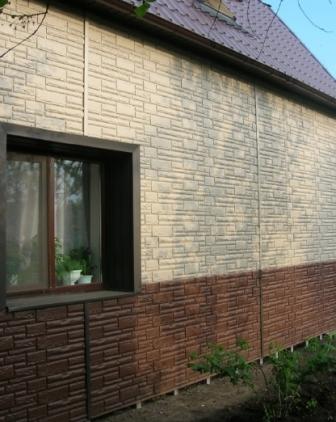 Цокольный сайдинг от компании «Доломит» – идеальный вариант для облицовки фасада здания