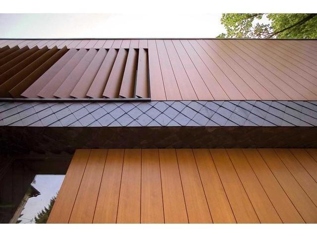 Недостатки фасада из древесины – стоимость и риск повреждения насекомыми, плесенью или мхом