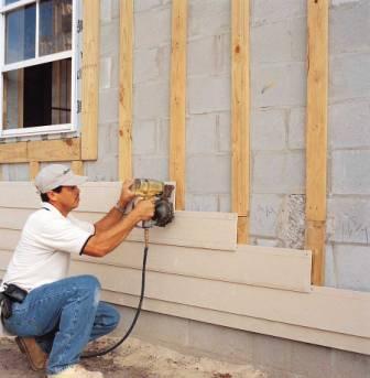 Монтируются панели, как правило, на деревянную обрешетку