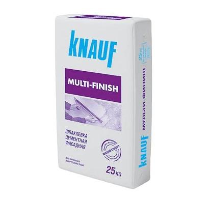 Штукатурка Knauf — сложная сухая смесь