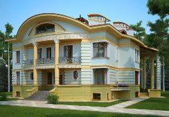 Красивый дизайн фасада – гордость владельца дома