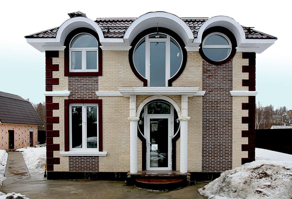 Декор на фасад дома своими руками 894