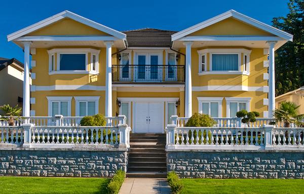 Opis fasade hiše