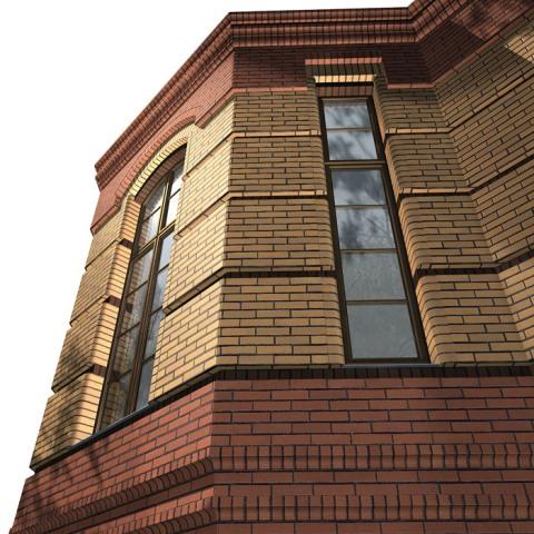 Облицовочный кирпич на фасаде здания дополнительно нагружает фундамент, и далеко не каждый фундамент изначально на это рассчитан