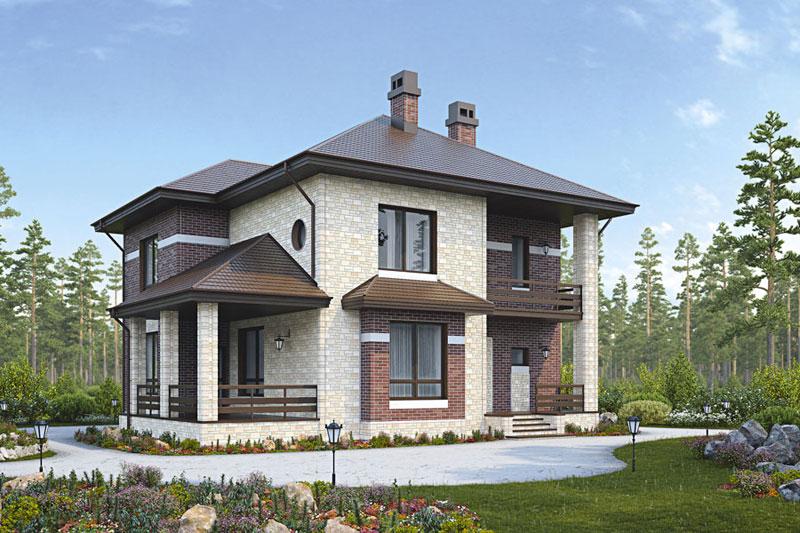 Фасадные панели описываемого типа выглядят очень стильно и современно