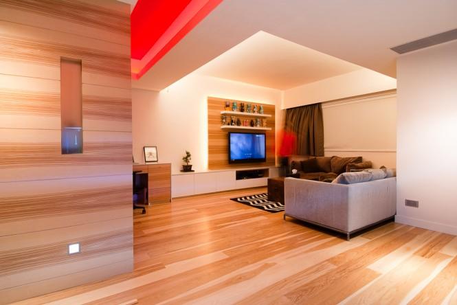 Деревянные отделочные панели прекрасно смотрятся на небольшой площади или стенах