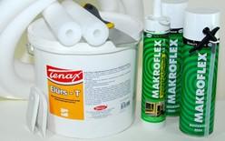 Для проведения фасадных работ требуются герметизирующие материалы