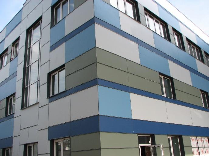 Вентилируемые фасады получили достаточно широкое распространение в нашей стране
