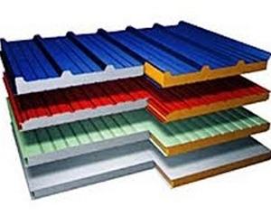 Фасадные сэндвич-панели состоят из прочного корпуса и теплого наполнителя