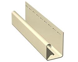 J-образный профиль используется для окантовки дверных и оконных проемов