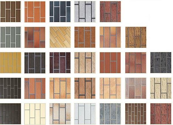 Разнообразные цвета, дизайн и размеры, а также другие параметры керамической облицовочной фасадной плитки легко позволяют выбрать вариант на любой вкус