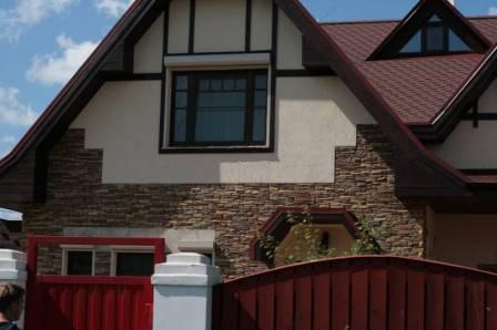 Отделка фасадов в частном доме москва
