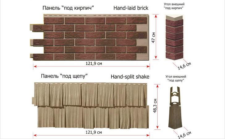 Зная размер панелей, можно рассчитать нужное количество сайдинга для обшивки вашего дома