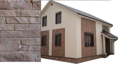 Современные фасадные панели, трудно отличить от природных материалов