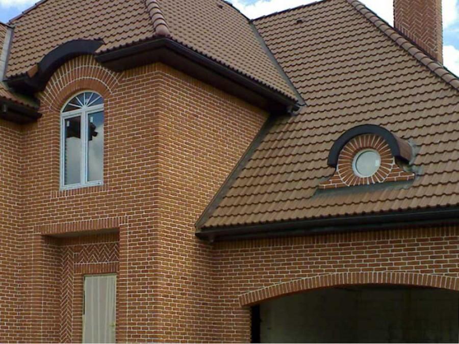 Отделочный кирпич для фасада показать варианты отделки