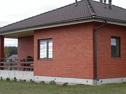 На протяжении многих лет кирпичный фасад популярен и востребован