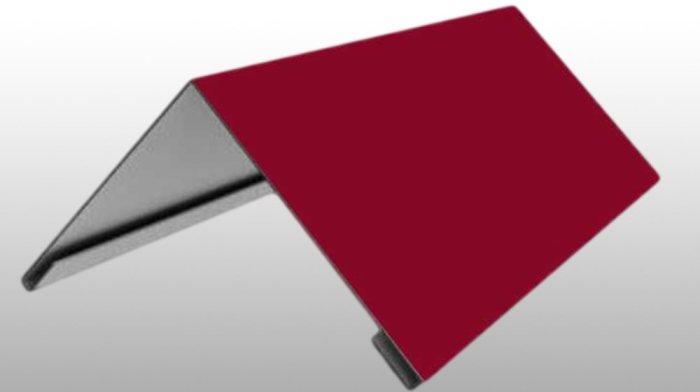 Конёк простой требуется для закрытия кровельного материала на коньковой части