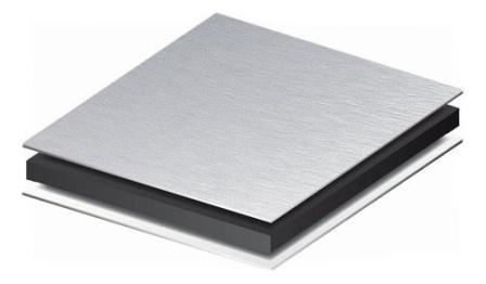 Применение алюминия в композитных панелях обусловлено его легкостью и коррозионной стойкостью