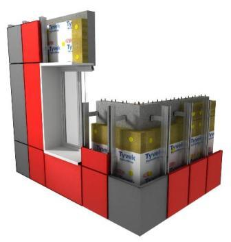 Вентилируемые фасады дают возможность воздуху циркулировать, что повышает срок их эксплуатации