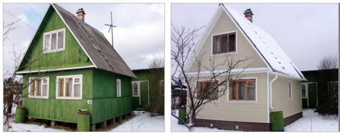 Технология обшивки старых деревянных домов своими руками имеет свои особенности и позволяет не только дать старому строению «вторую жизнь», но и выполнить качественную реконструкцию самостоятельно
