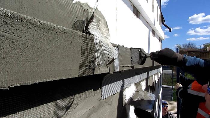 Мокрый фасад своими руками требует тщательного выполнения всех работ на подготовительном этапе