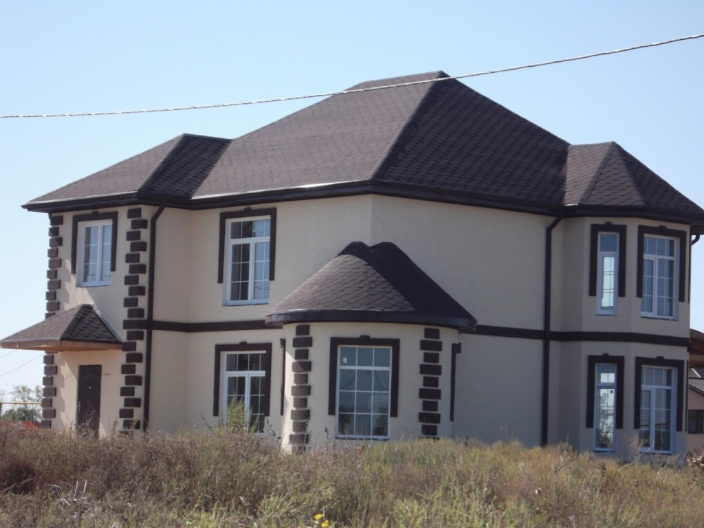 Отделка фасада дома под ключ цена