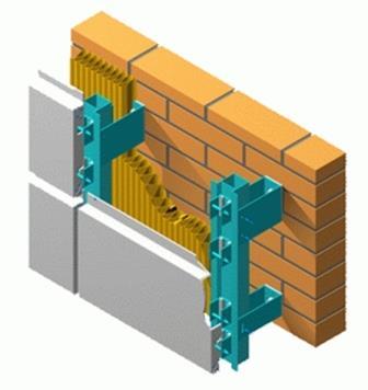 Навесные фасады не требуют подготовки поверхности, скрывают дефекты стен