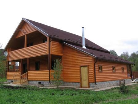 Блок-хаус современный, экоматериал, его популярность оправдана