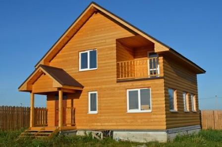 Альтернатива деревянному блок-хаусу - пластиковый, более дешевый