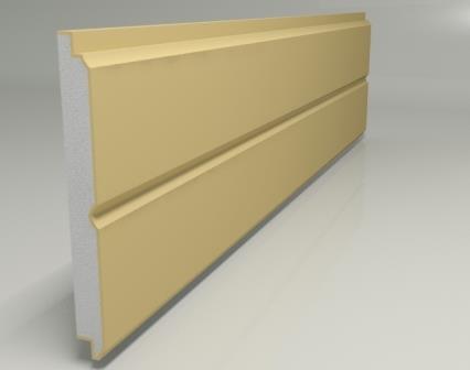 Некоторые фирмы производят панели с термоизоляционным слоем