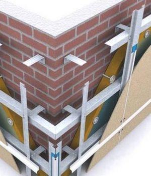Полости каркаса можно заполнить утеплителем для дополнительной звуко- и термоизоляции