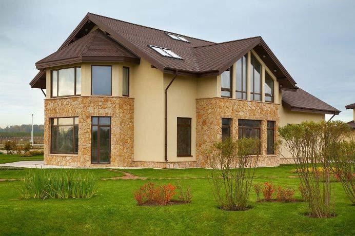 Применение доборных элементов позволяет придать внешнему облику сооружений высокий уровень эстетичности