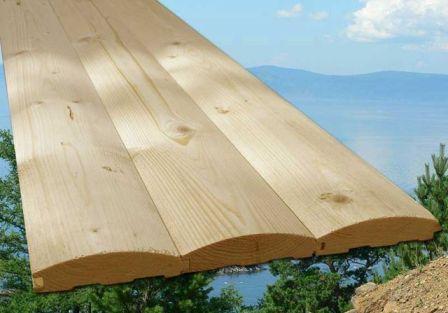 Если в продаже есть блок-хаус из древесины непосредственно северных пород – лучше отдать ему предпочтение в первую очередь