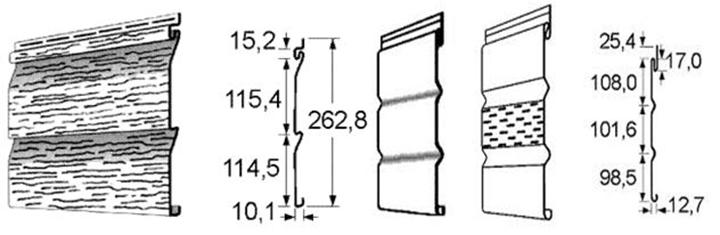 Перед тем как рассчитать сайдинг для выполнения облицовки фасада, следует ознакомиться с параметрами используемого в процессе монтажных работ материала