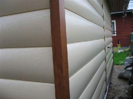 Пластиковый блок-хаус не менее долговечен чем деревянный